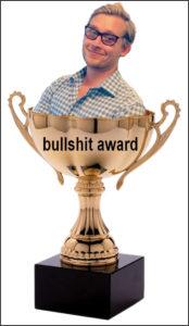 AUWU bullshit award jack houghton
