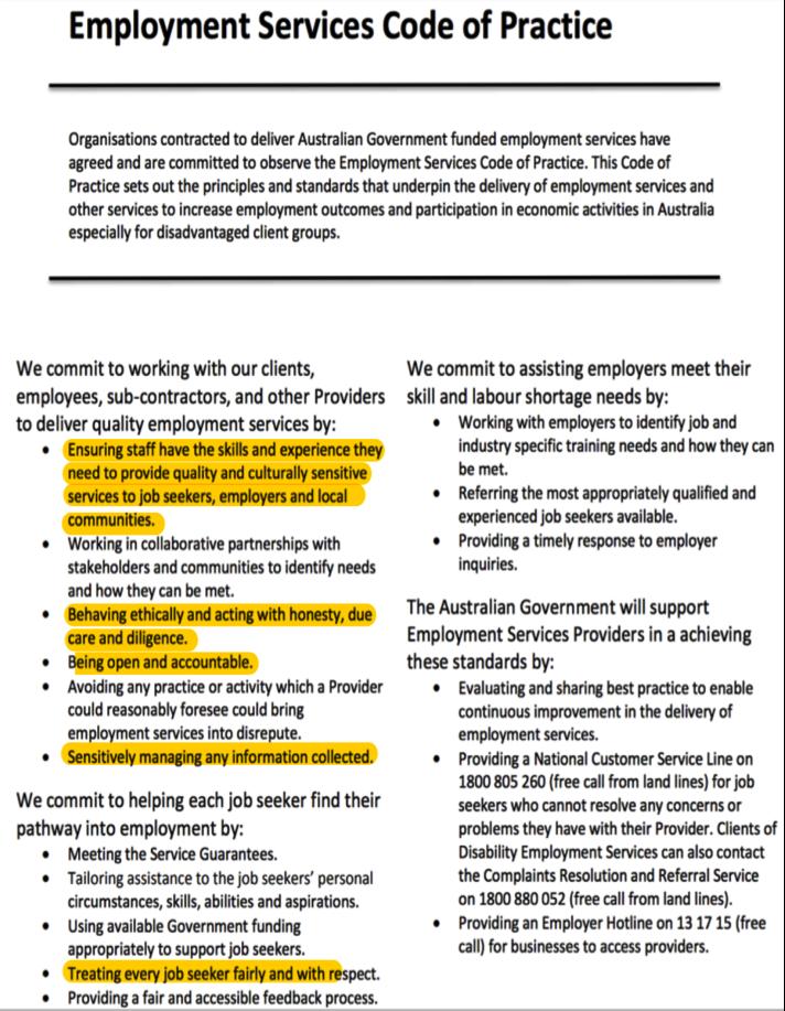 jobactive code 2